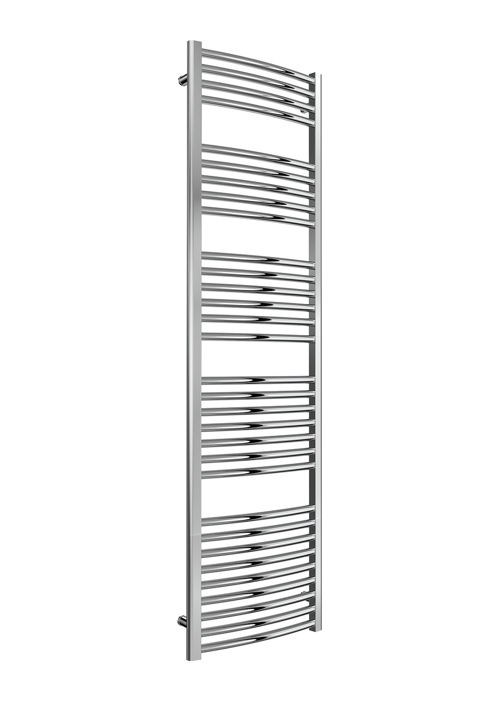 Reina Diva Straight Heated Towel Rail 1800mm H x 400mm W Chrome